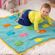 Go to Product: Red Heart School of Fish Blanket in color