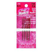 "Go to Product: Susan Bates 5 Pack, Steel Yarn Needles, 2"" in color"
