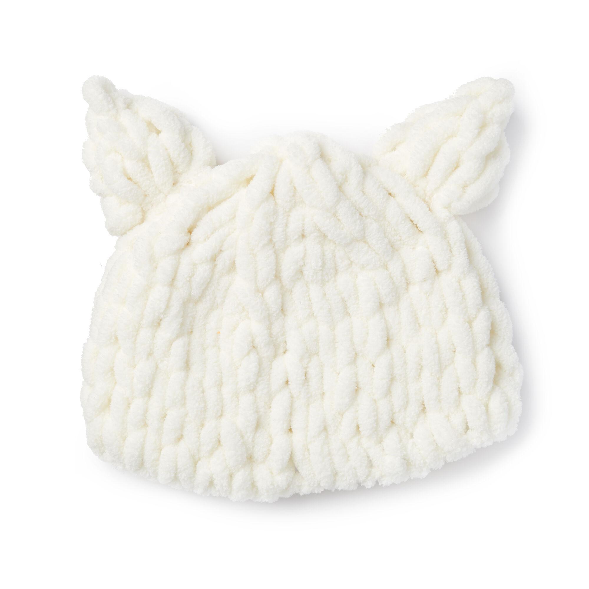 c5436ce0fb4 More Inspirational Images. Bernat Alize EZ Baby Bear Hat ...