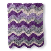 Bernat Chevron Crochet Blanket