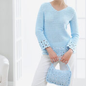 Patons Lacy Tunic and Purse, Purse
