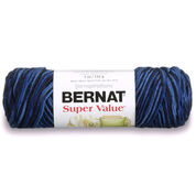 Go to Product: Bernat Super Value Variegates Yarn in color Denim Ombre