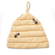 Lily Sugar'n Cream Beehive Knit Dishcloth
