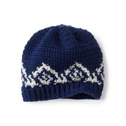 Go to Product: Patons Winter Crown Crochet Hat in color