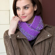 Go to Product: Red Heart Brioche-Look Cowl in color