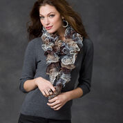 Go to Product: Red Heart Smoky Swirls Scarf, Short in color