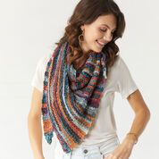 Red Heart Sedona Sunset Shawl