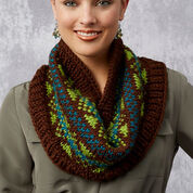 Go to Product: Red Heart Fabulous Fair Isle Cowls in color