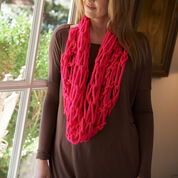 Red Heart Arm-Knit Vivid Cowl