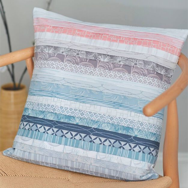 Coats & Clark Soft Strips Pillow in color