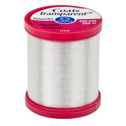 Go to Product: Coats & Clark Transparent Thread 400 yds, Clear (Transparent) in color Clear (Transparent)
