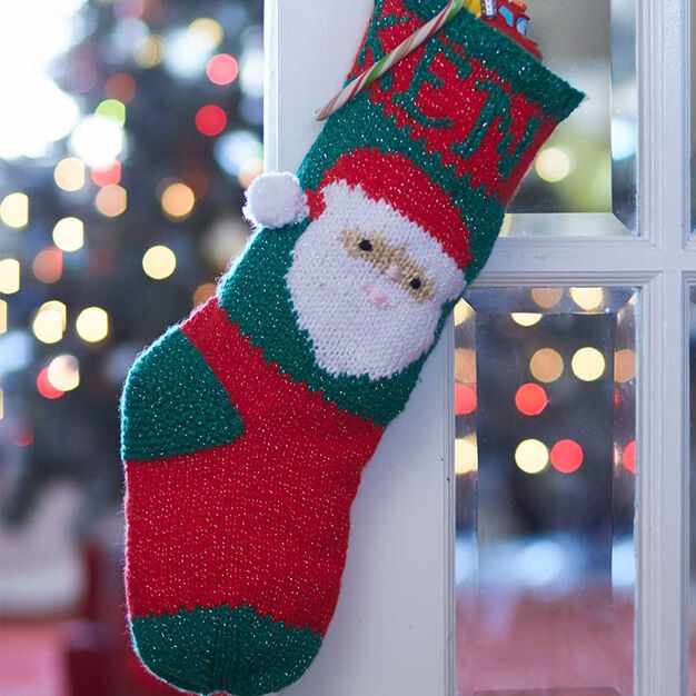 Bernat Santa's Stocking Just for You in color