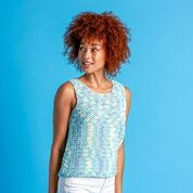 Go to Product: Bernat Let's Summer Crochet Top, XS/S in color