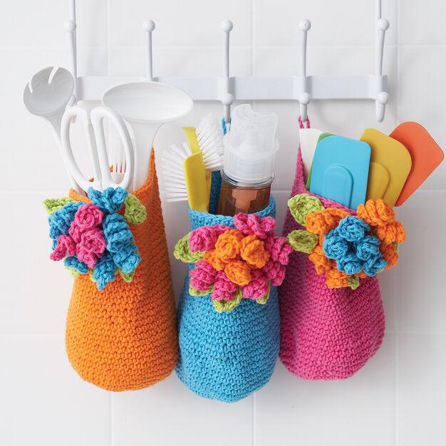 Lily Sugar'n Cream Bouquet Baskets, Version 1 in color