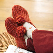Patons Textured Slippers, S