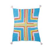 Bernat Mitered in the Middle Crochet Blanket