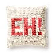 Bernat Croch-Eh Throw Pillow