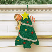 Bernat Easy Tree Stocking