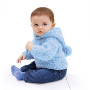 Go to Product: Red Heart Peek-a-Boo Hoodie, 3/6 mos in color