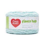 Go to Product: Red Heart Fleece Hugs Yarn in color Blue Jay