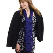 Caron Broomstick Lace Set, Scarf