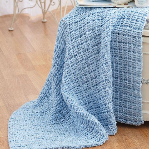 Bernat Crochet Blanket