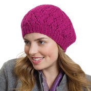 Go to Product: Caron Raspberry Beret, XS/S in color