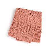 Go to Product: Bernat Crochet Texture Sampler Blanket Sparkle in color