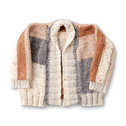 Caron One Piece Knit Cardigan, XS/S