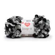 Go to Product: Red Heart Loop-It Yarn (200 g/7 oz), School Of Rocks in color School Of Rocks