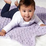 Caron Textured Baby Blanket
