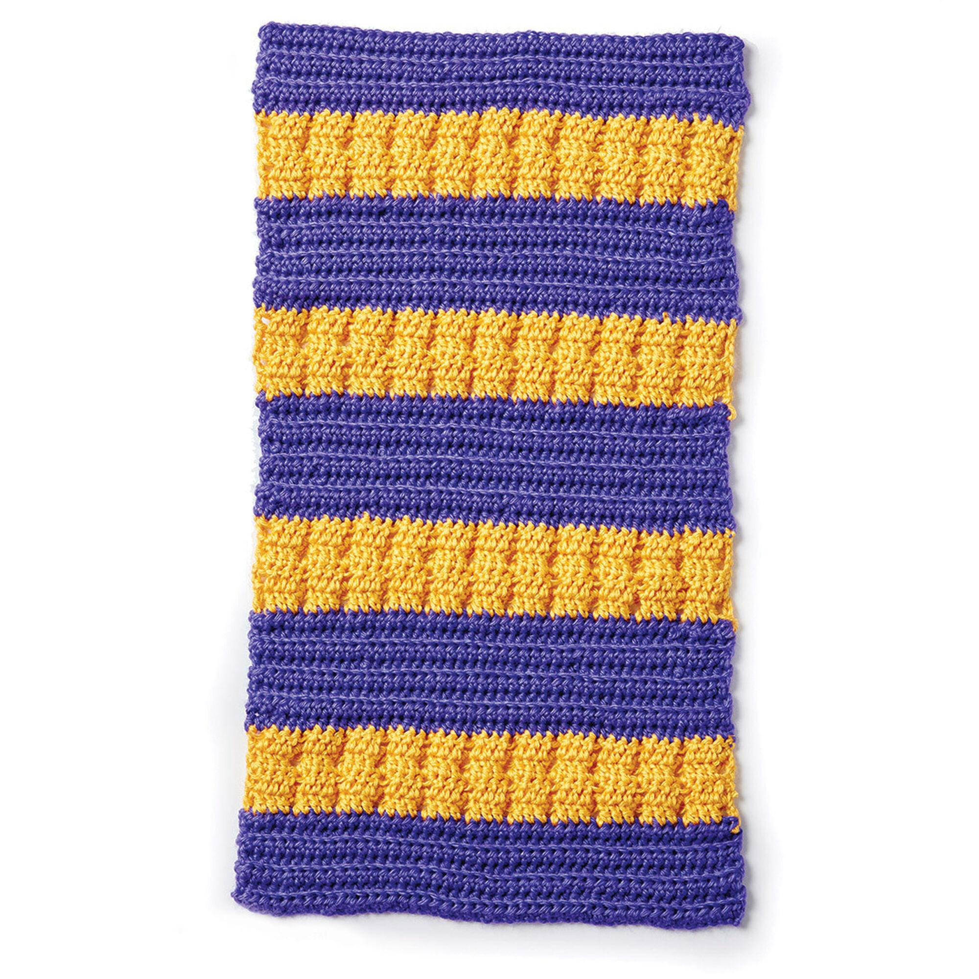 Caron School Colors Crochet Afghan Version 4 Yarnspirations