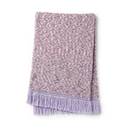 Go to Product: Caron Trimmed with Love Knit Blanket in color