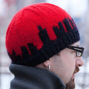Red Heart NY State of Mind Hat