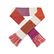 Caron x Pantone Crochet Color Swatch Scarf