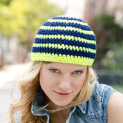 Red Heart Striking Stripes Hat