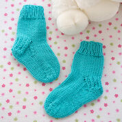 Go to Product: Red Heart Comfy Baby Socks in color