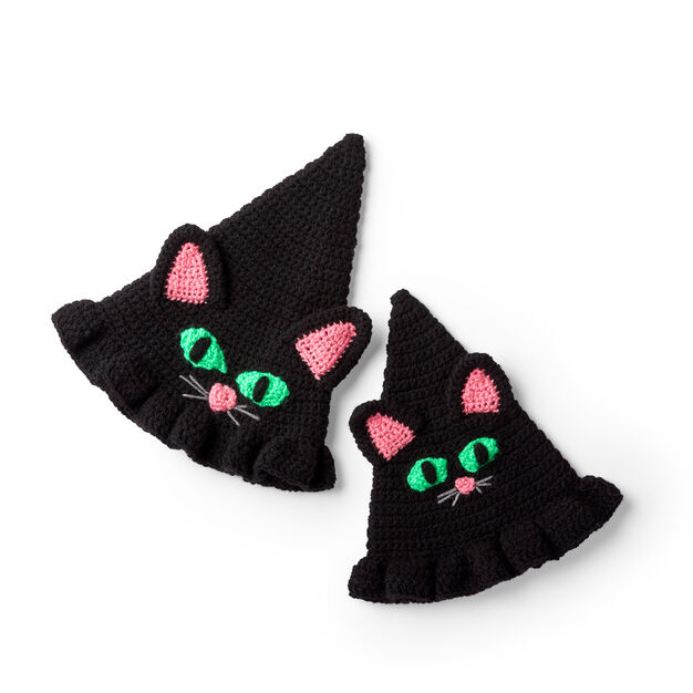 Red Heart Witchy Cat Hat, S in color