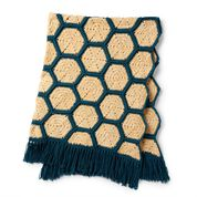 Go to Product: Bernat Velvet Honeycomb Crochet Blanket in color