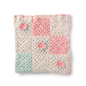 Bernat Crochet Flower Patch Blanket