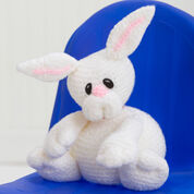 Red Heart Flopsy Bunny Toy