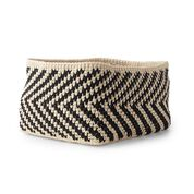 Go to Product: Bernat Deja V Crochet Basket in color