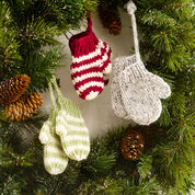 Red Heart Mitten Ornaments
