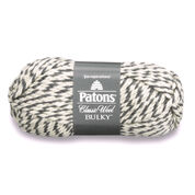 Go to Product: Patons Classic Wool Bulky Yarn, Dark Gray Ragg - Clearance Shades* in color Dark Gray Ragg