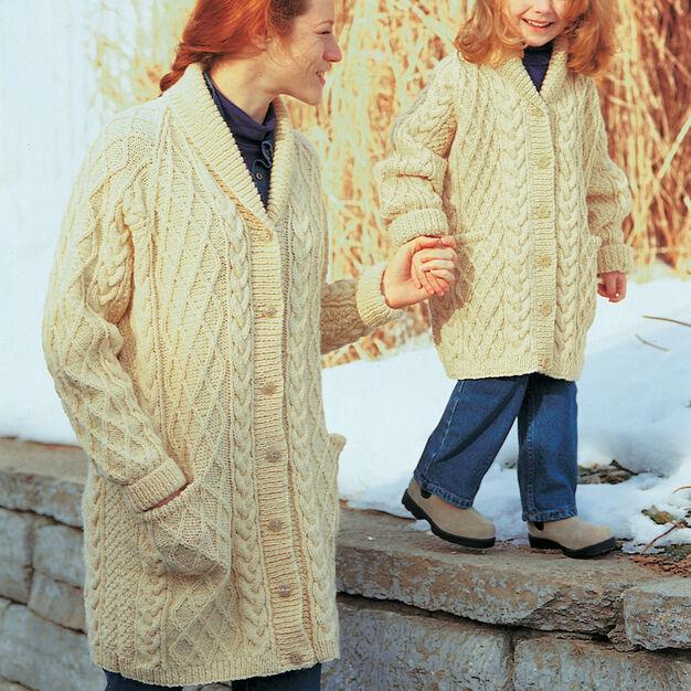 Patons Shawl-Collar Jacket, S