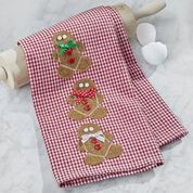Dual Duty Gingerbread Towel
