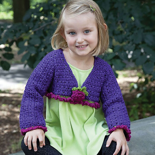 Caron Fancy Girl Top, 4 yrs in color
