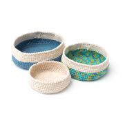 Bernat Crochet Nesting Bowls, S
