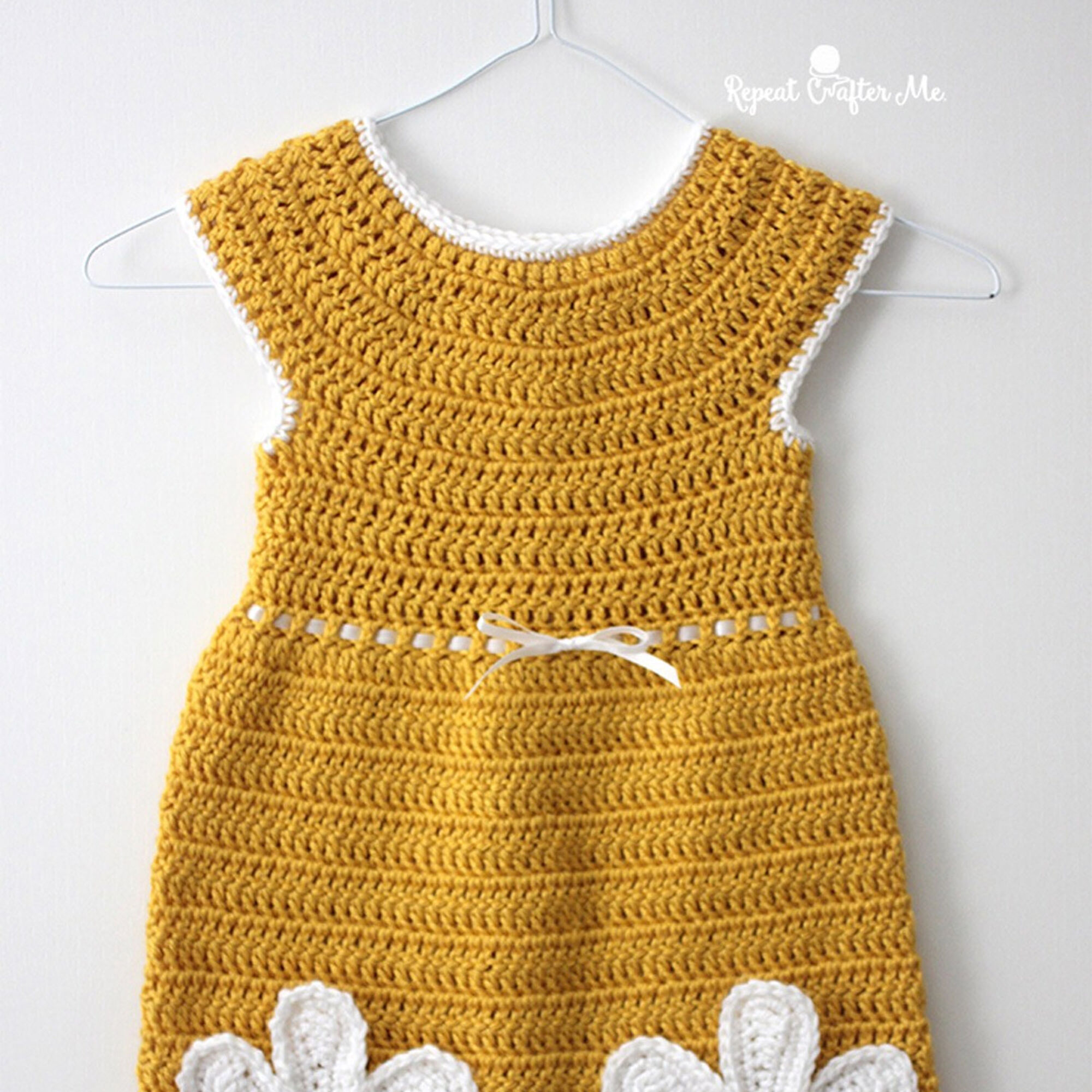 3-4yrs - 0567 Girl/'s Daisy Dress Crochet Pattern