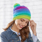 Go to Product: Red Heart Knit Stripes Hat, S in color